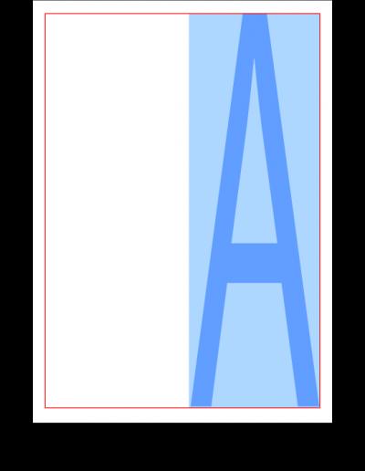 Half Vertical Page